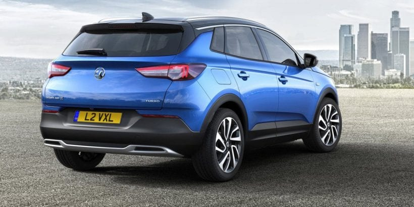 2018 Opel Grandland X rear view