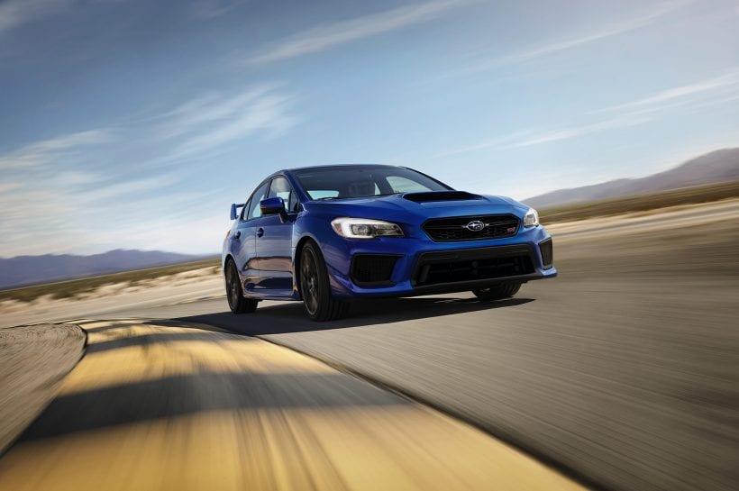 2018 Subaru WRX STI styling