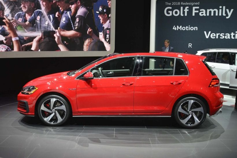2018 Volkswagen Golf design