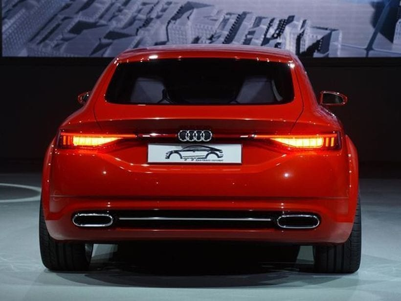 2019 Audi A3 Coupe rear
