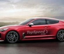 2020 Kia Stinger Coupe side view