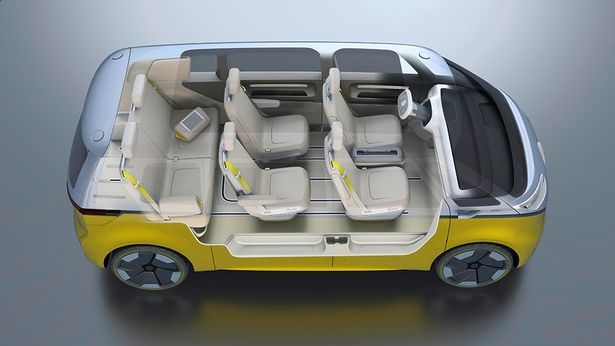 2020 Volkswagen Van interior