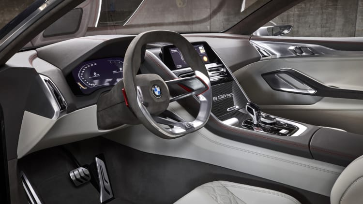 2017 BMW 8 Series Concept interior