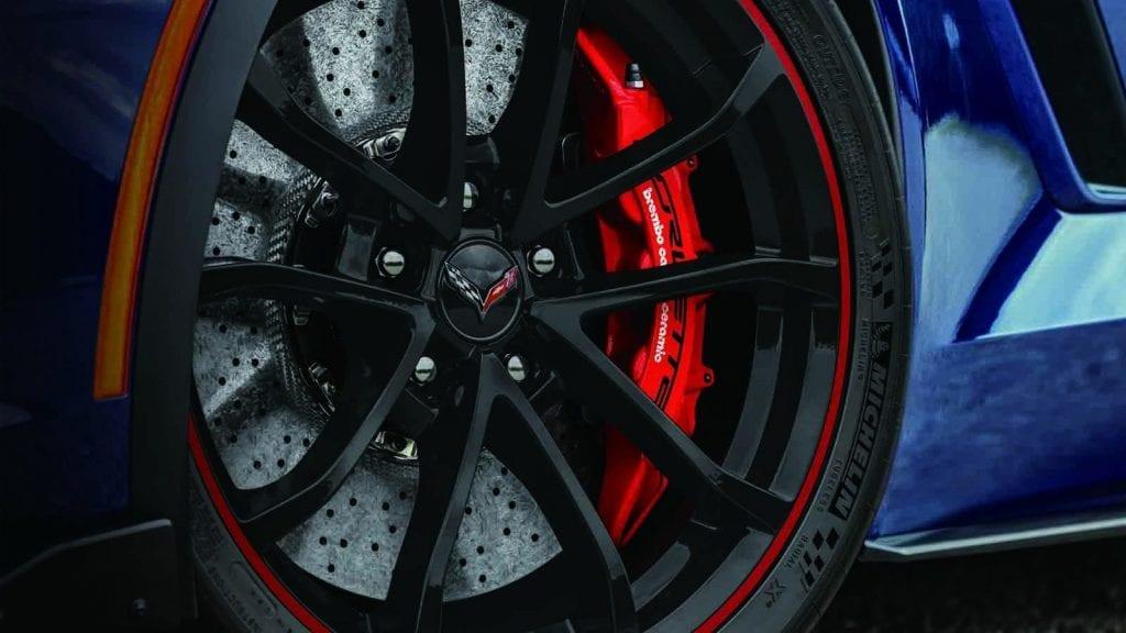 2017 Chevrolet Corvette Grand Sport Admiral Blue Heritage Edition