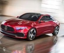 2017 Mercedes-Benz Concept A Sedan