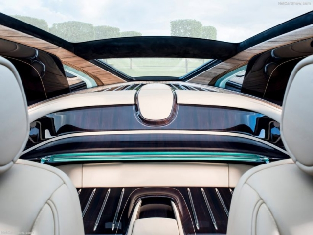 2017 Rolls-Royce Sweptail interior