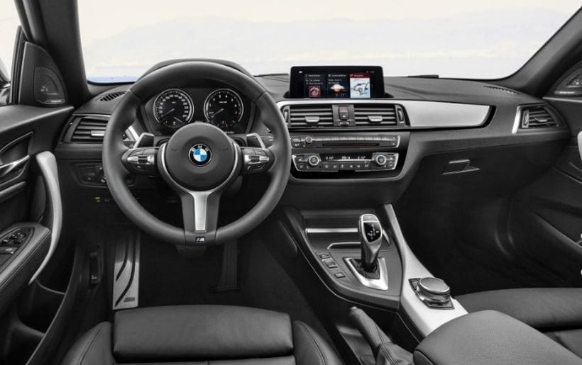2018 BMW 2 Series interior