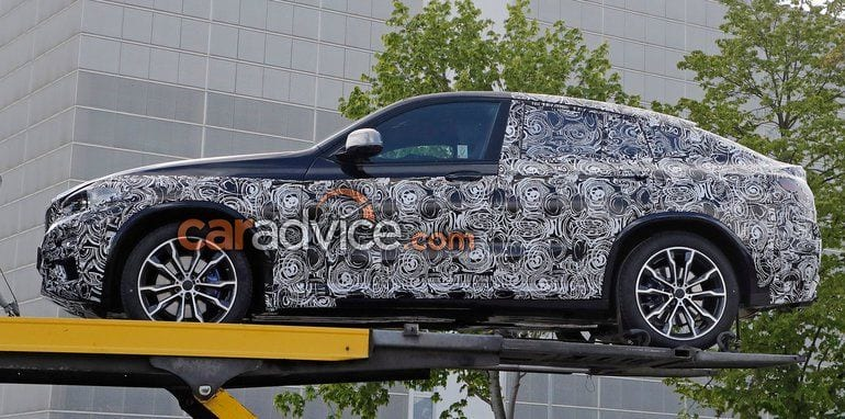 2018 BMW X4 spy photo