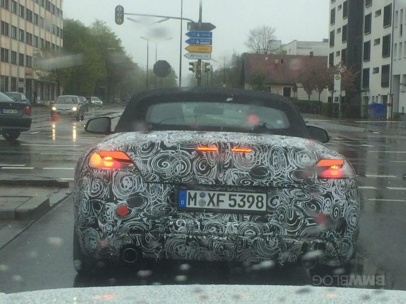 2018 BMW Z4 design