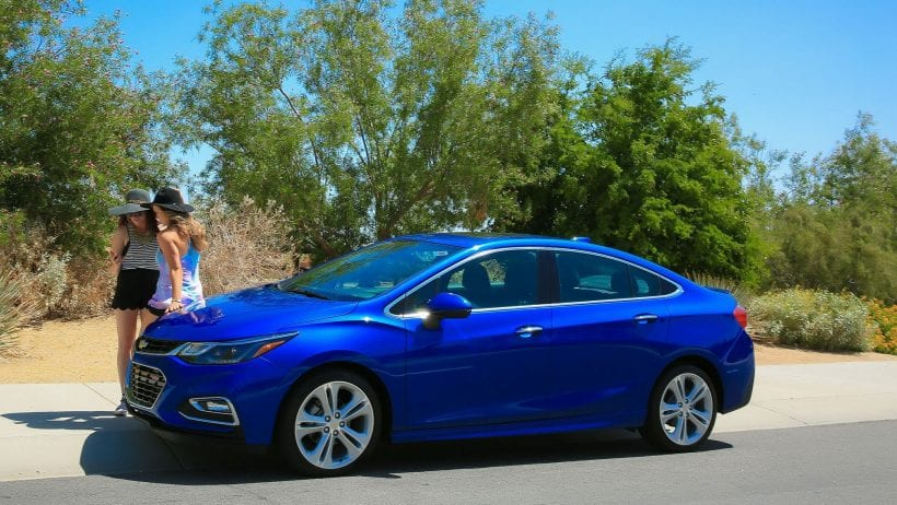 2018 Chevrolet Cruze Diesel on road