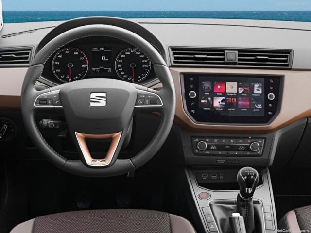2018 Seat Ibiza interior