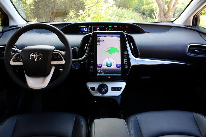 2018 Toyota Prius TRD interior