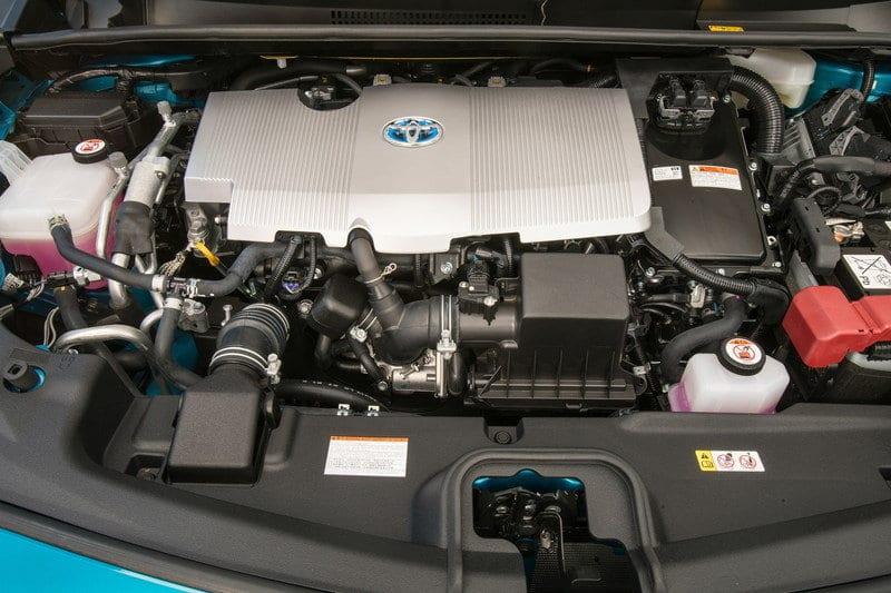 2018 Toyota Prius TRD engine