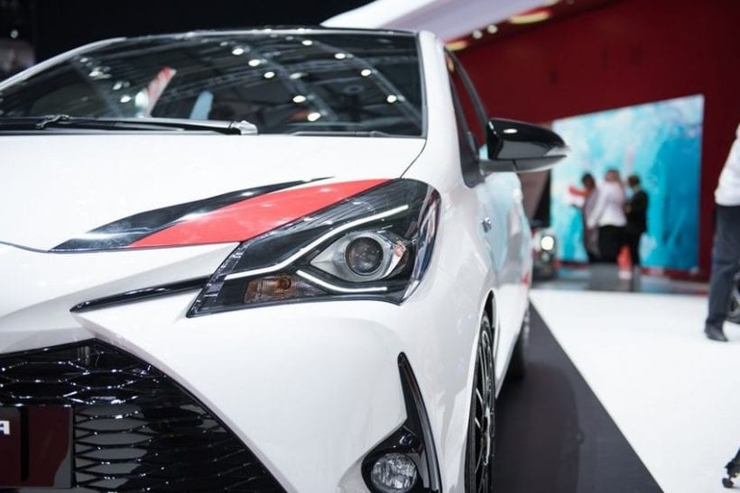 2018 Toyota Yaris GRMN headlights