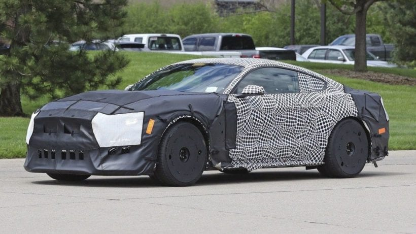 2019 Ford Mustang Shelby Gt500 Spy Photos Specs