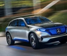 2020 Mercedes-Benz EQ SUV