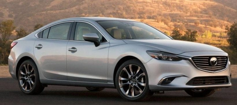 Mazda 6 front view 2