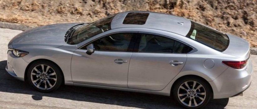 Mazda 6 top view