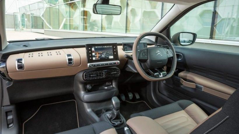 2017 Citroen C4 Cactus interior