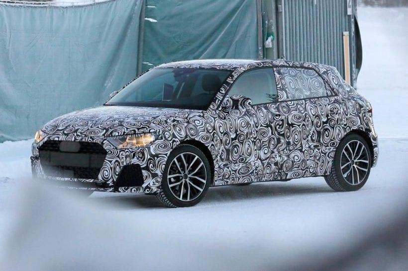 2018 Audi A1 left side