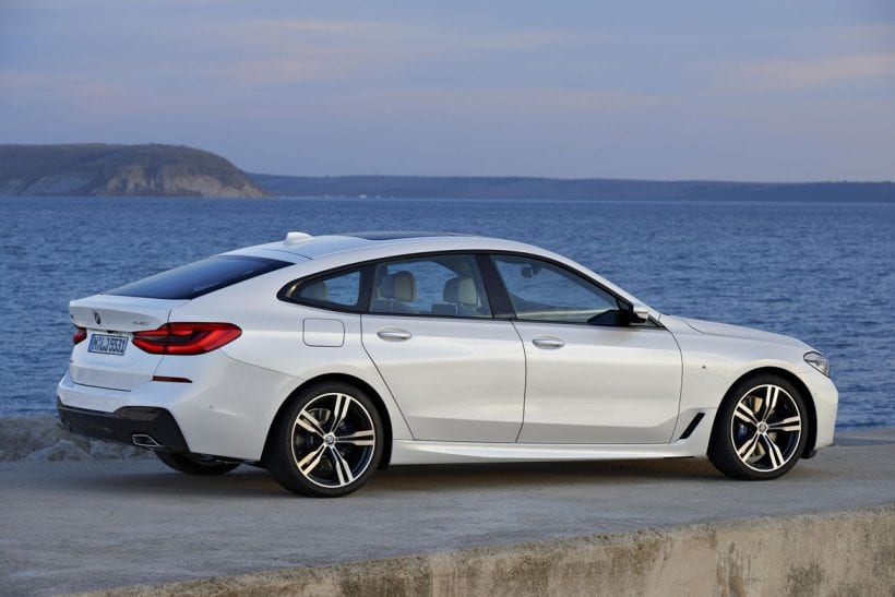 2018 BMW 6 Series Gran Turismo side view