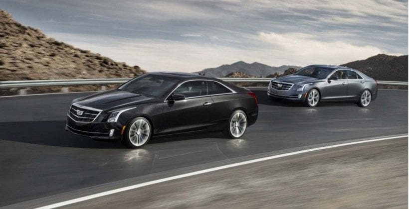 2018 Cadillac ATS on road