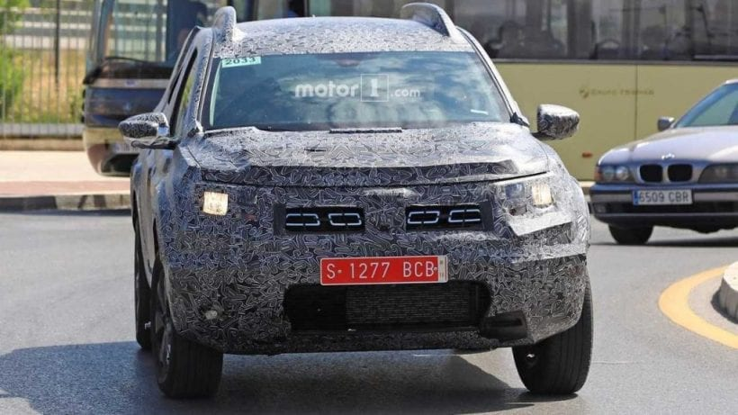 2018 Dacia Duster front view