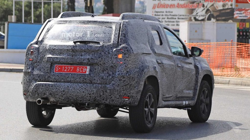 2018 dacia duster spy photos price release date review. Black Bedroom Furniture Sets. Home Design Ideas