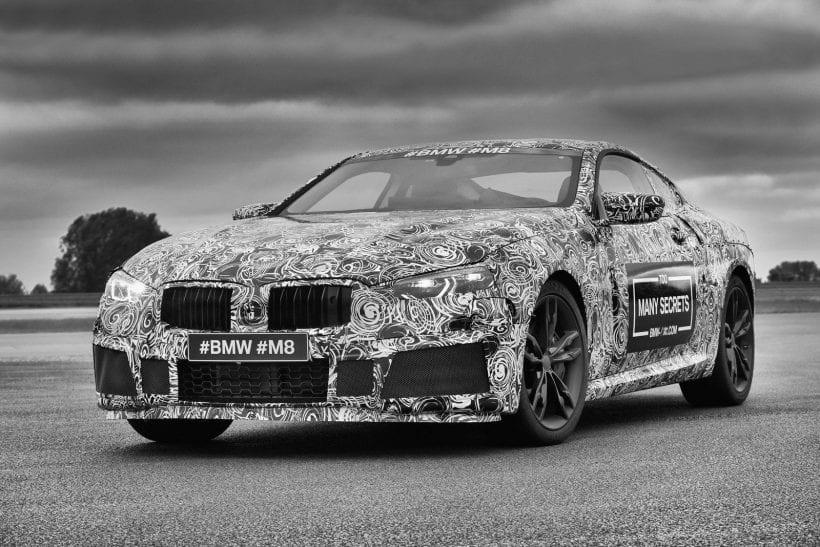2019 BMW M8 main image