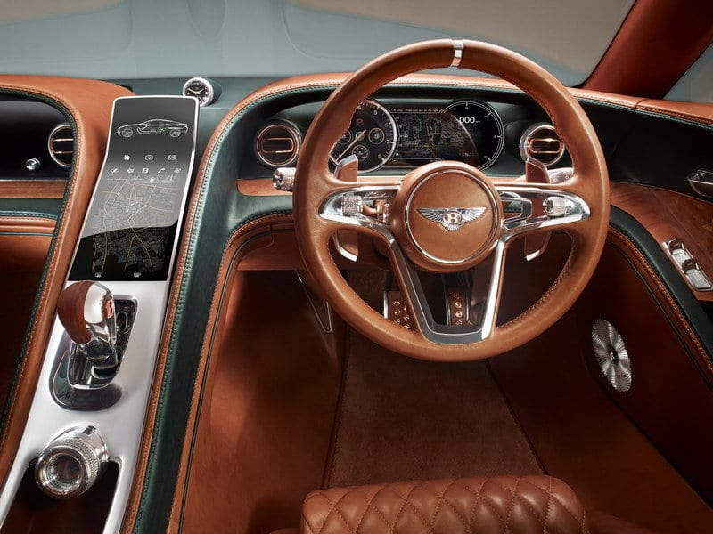 2019 Bentley Flying Spur interior