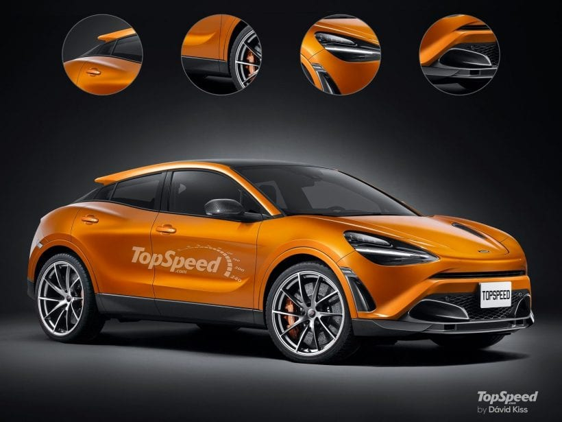 2020 McLaren SUV side view 2