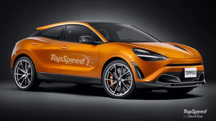 2020 McLaren SUV side view