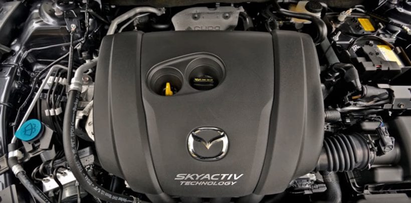 Mazda 6 - Skyactiv technology