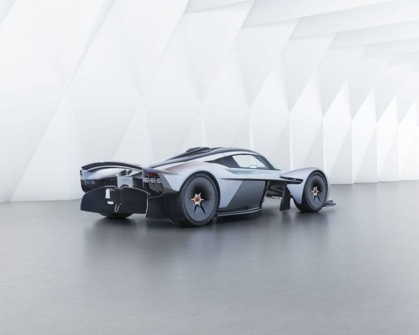 2018 Aston Martin Valkyrie side view