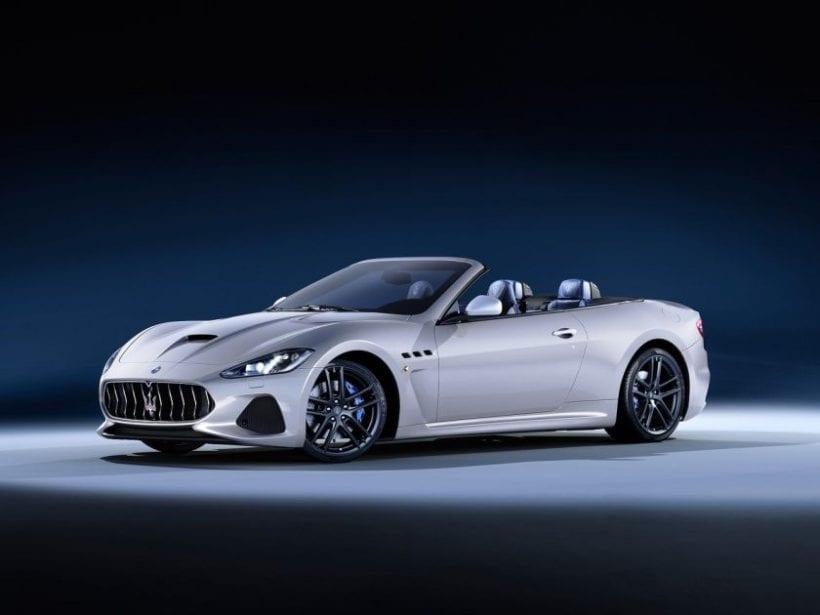 2018 Maserati Granturismo Convertible design