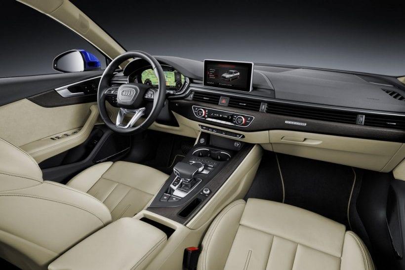 2019 Audi A4a interior