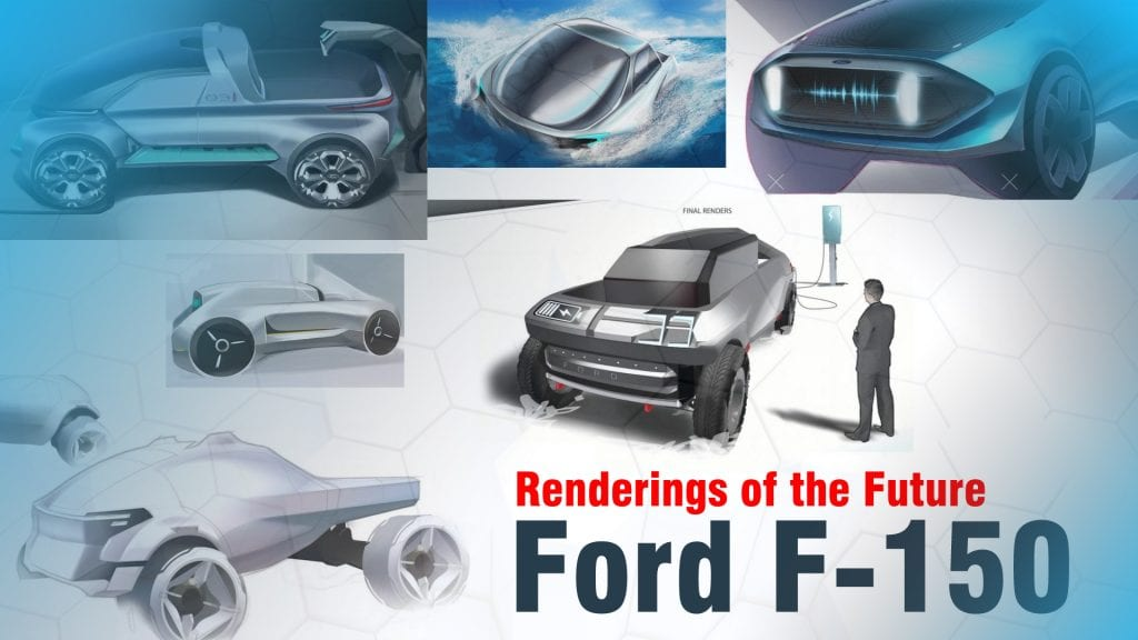 11 Ford F 150 Renderings Of The Future