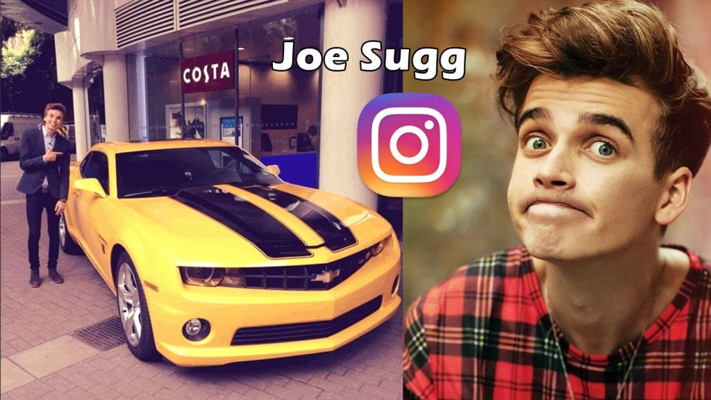 Top 5 Cars On Joe Sugg S Instagram 2018