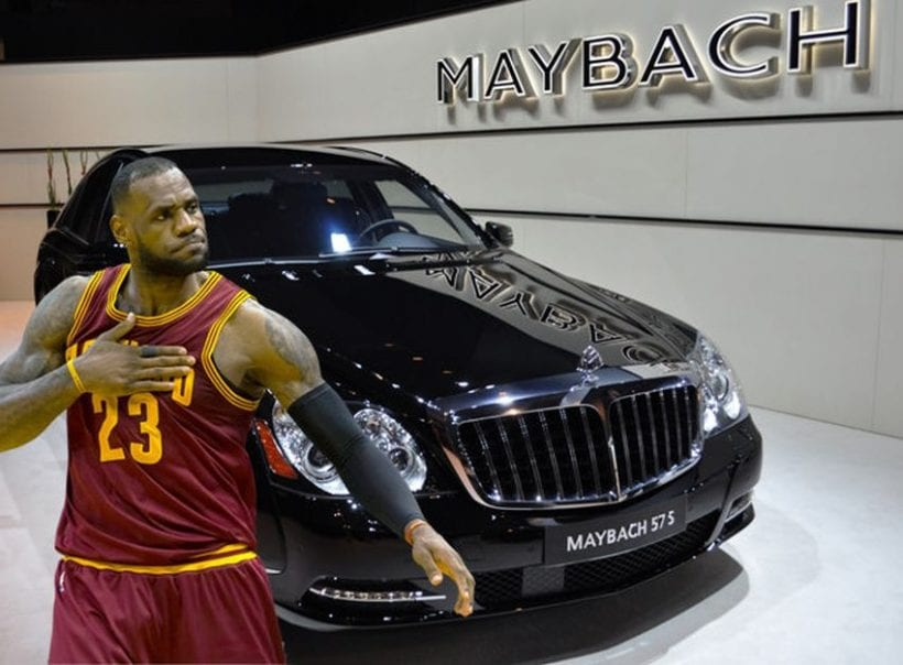 Top 10 Most Expensive Cars >> Top 10 Most Expensive Cars of NBA Players