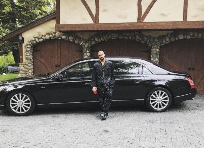 Top 5 Cars Drake Showed On Instagram