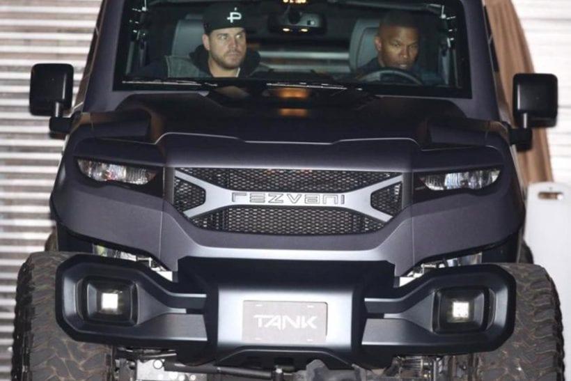 Jamie Foxx Purchases The Extreme Rezvani Tank SUV