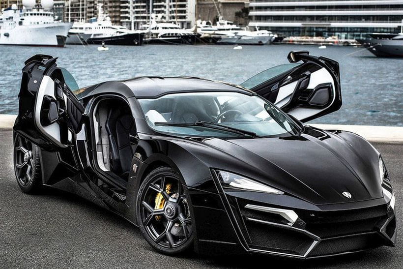 10 Most Expensive Cars in 2018