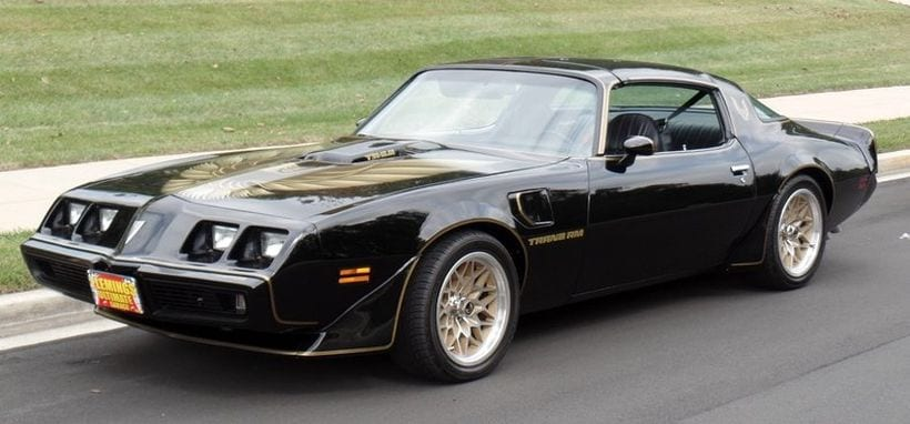 10 Best Pontiac Trans Am appearances in movies