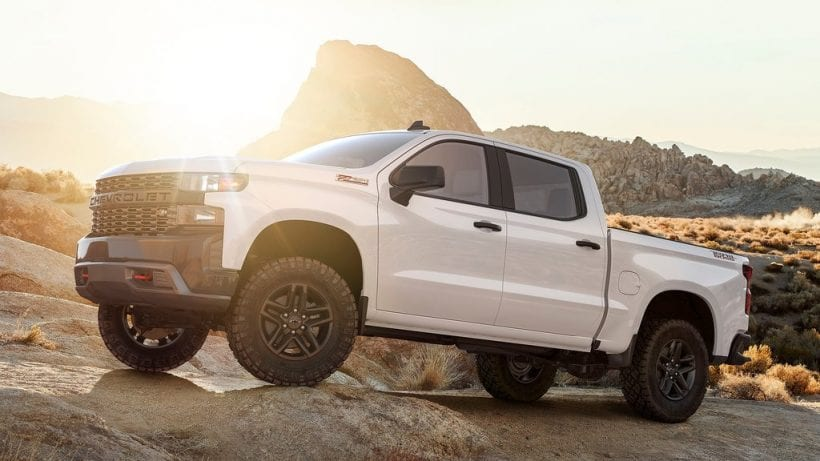 2020 Chevrolet Silverado featured