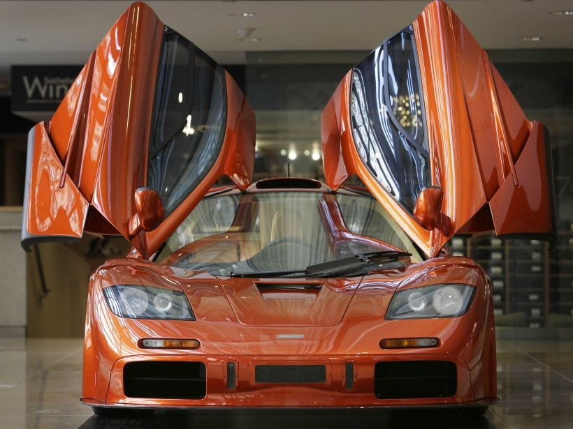 Top 7 Cars With Gull Wing Doors 2018