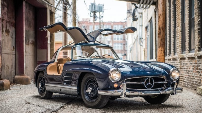 Top 7 cars with gull wing doors 2018 for Mercedes benz with wing doors