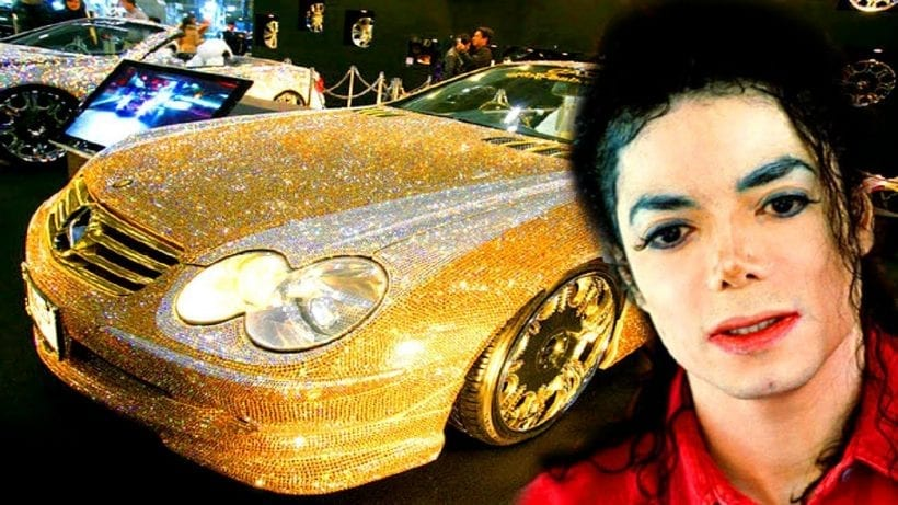 all cars in michael jackson collection celeb cars