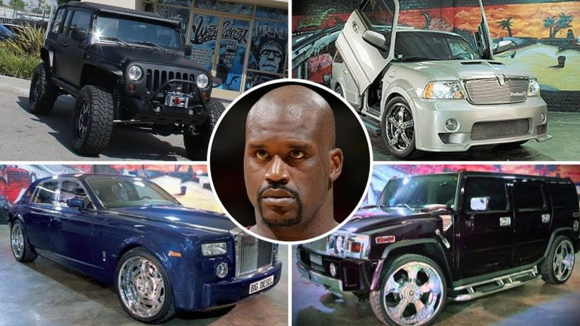 Top 11 Cars Owned By Shaquille O Neal Celeb Cars