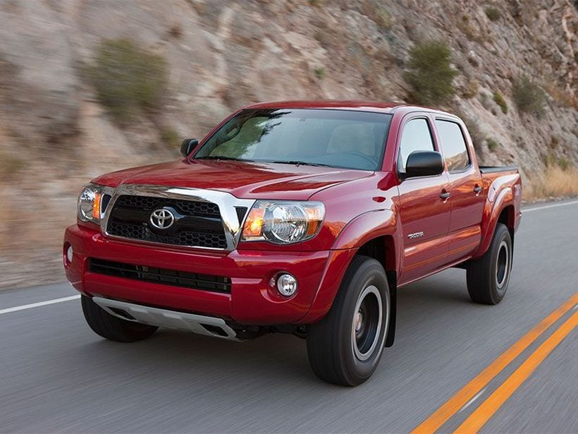 What Is The Towing Capacity Of A Toyota Tacoma >> Top 5 Small Trucks In United States (2018)
