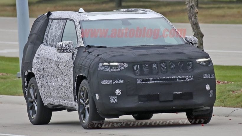 2019 Jeep Grand Wagoneer Price Release Date Spy Photos